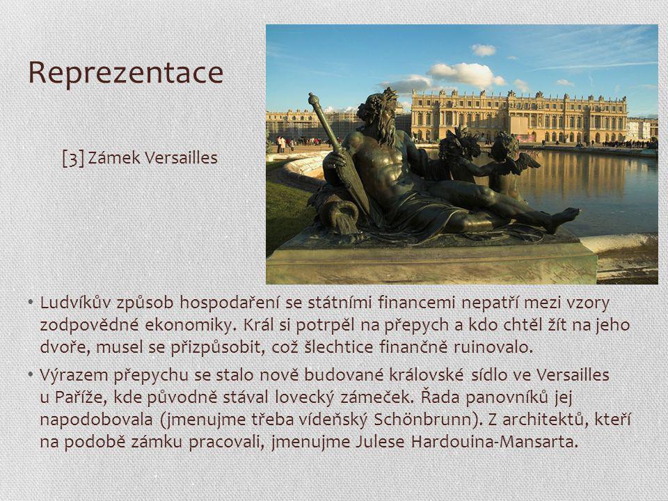 Reprezentace [3] Zámek Versailles